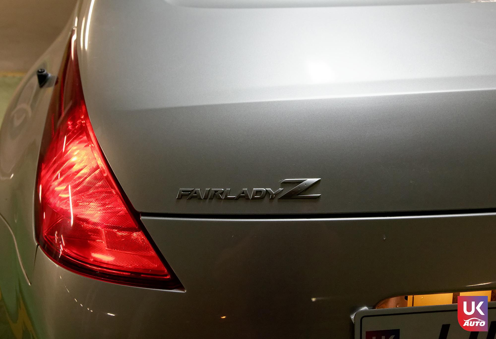 Ukauto import nissan 350z jdm import fairlady v6 import uk ukauto rhd nissan import uk7 - Import Nissan 350Z JDM IMPORT 3.5 V6 TIPTRONIC IMPORT AUTO par UKAUTO