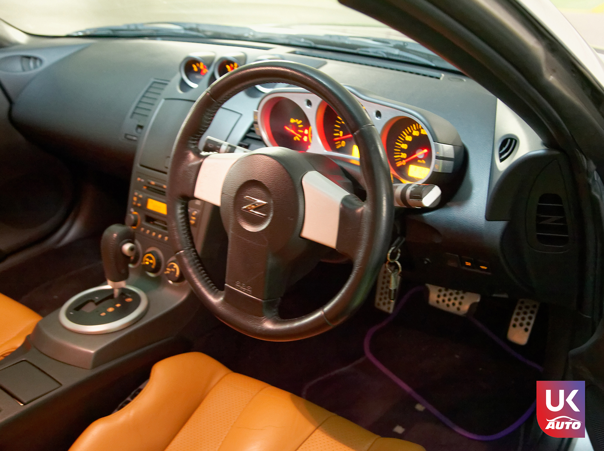 Ukauto import nissan 350z jdm import fairlady v6 import uk ukauto rhd nissan import uk9 - Import Nissan 350Z JDM IMPORT 3.5 V6 TIPTRONIC IMPORT AUTO par UKAUTO
