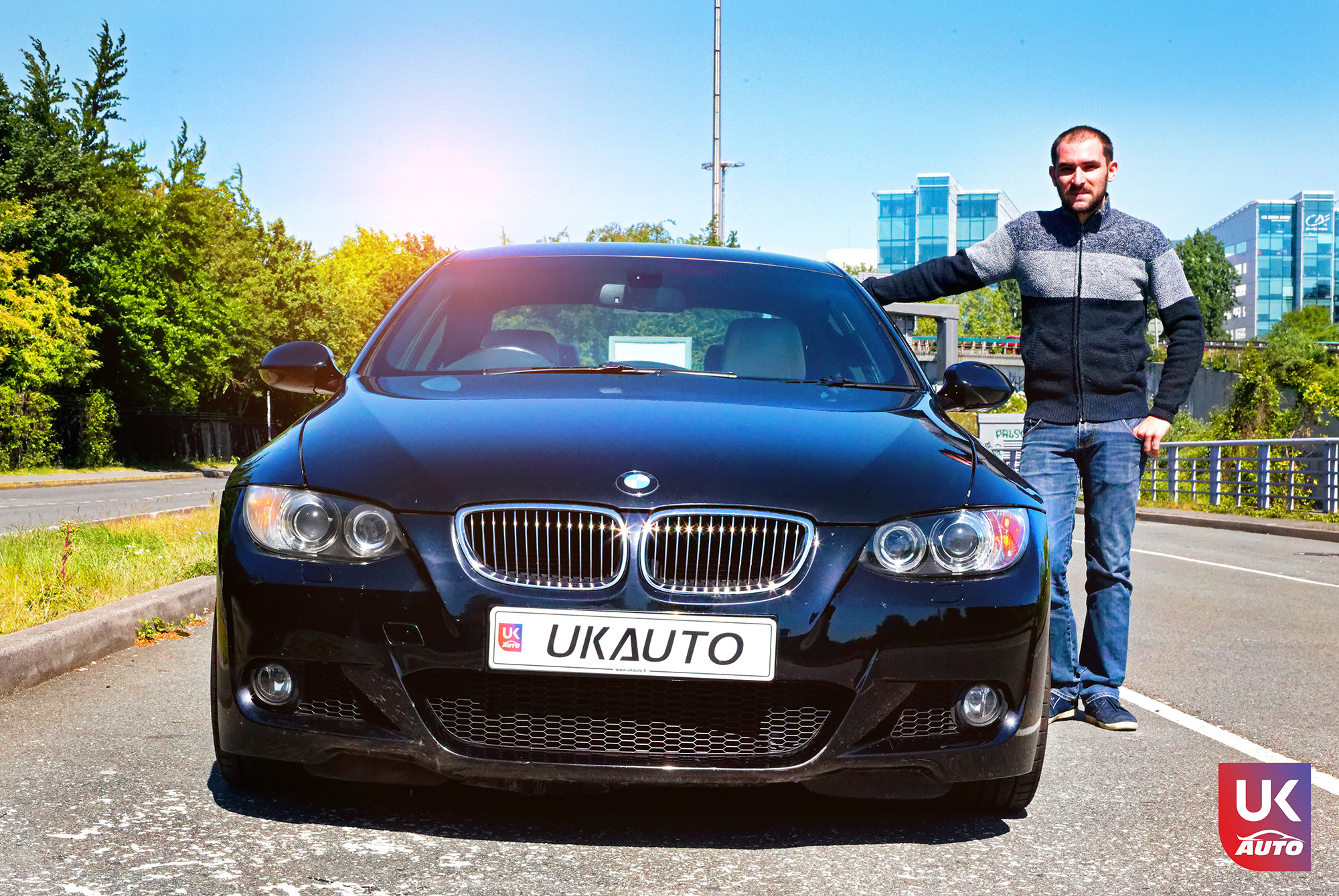 ukauto import bmw 335i bmw import angleterre voiture occasion voiture occasion auto import auto uk auto client14 - Felecitation a Tanguy pour ce bolide BMW 335i PACK M RHD IMPORT AUTO UK