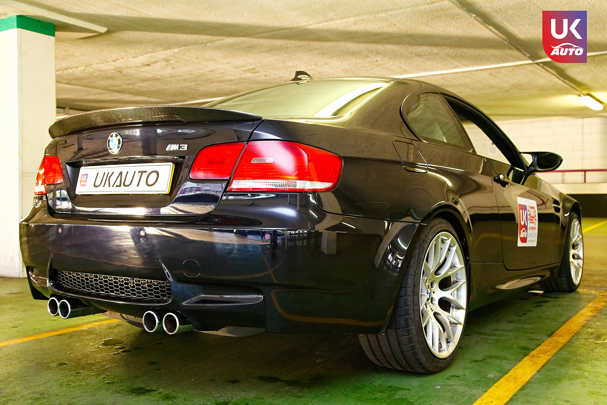 BMW m3 rhd ukauto importer voiture angleterre uk1 - Felecitation a Sylvain Pour cette BMW M3 E92 RHD pour avoir acheter une voiture en angleterre avant le brexit