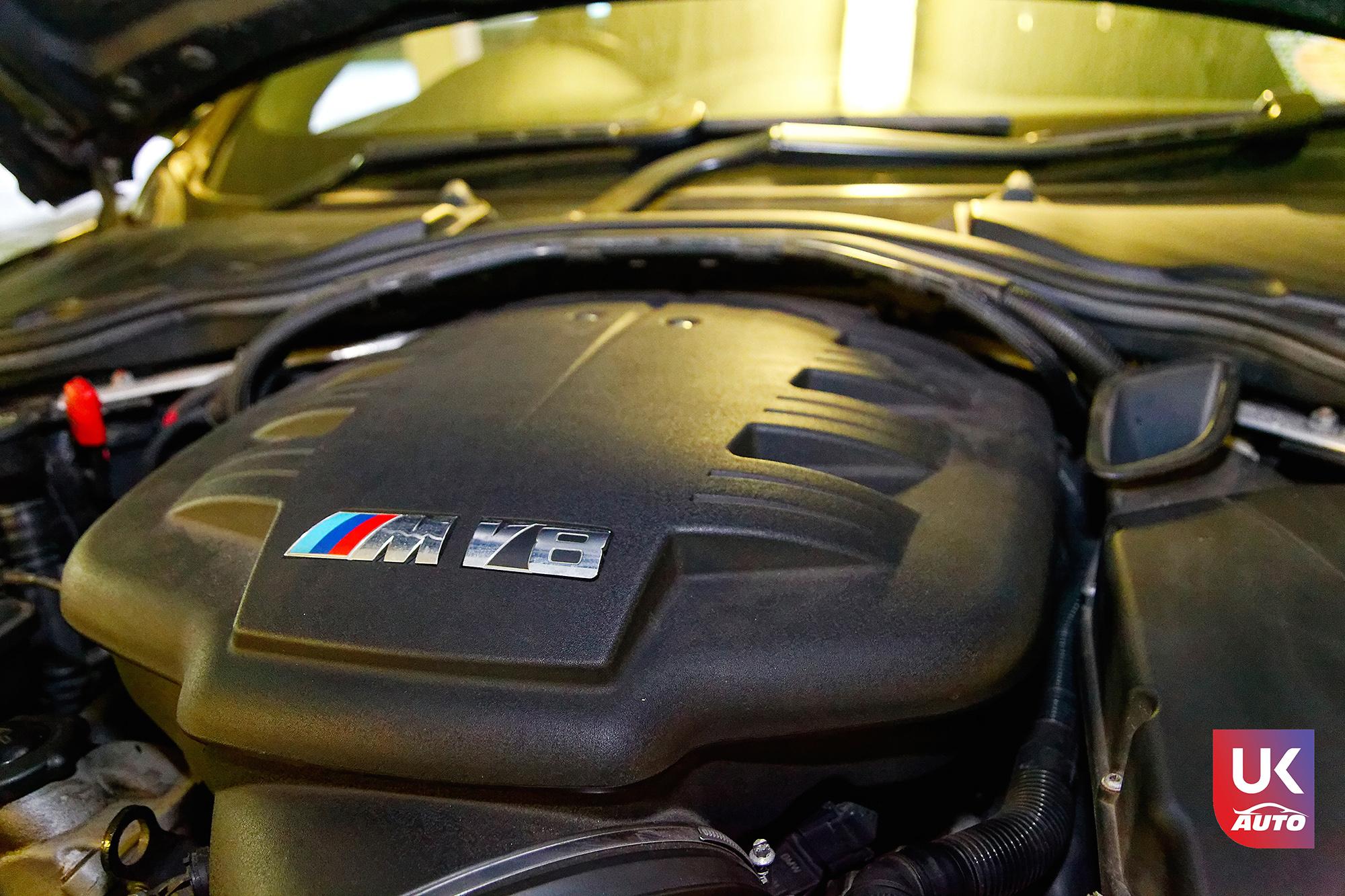BMW m3 rhd ukauto importer voiture angleterre uk10 - Felecitation a Sylvain Pour cette BMW M3 E92 RHD pour avoir acheter une voiture en angleterre avant le brexit