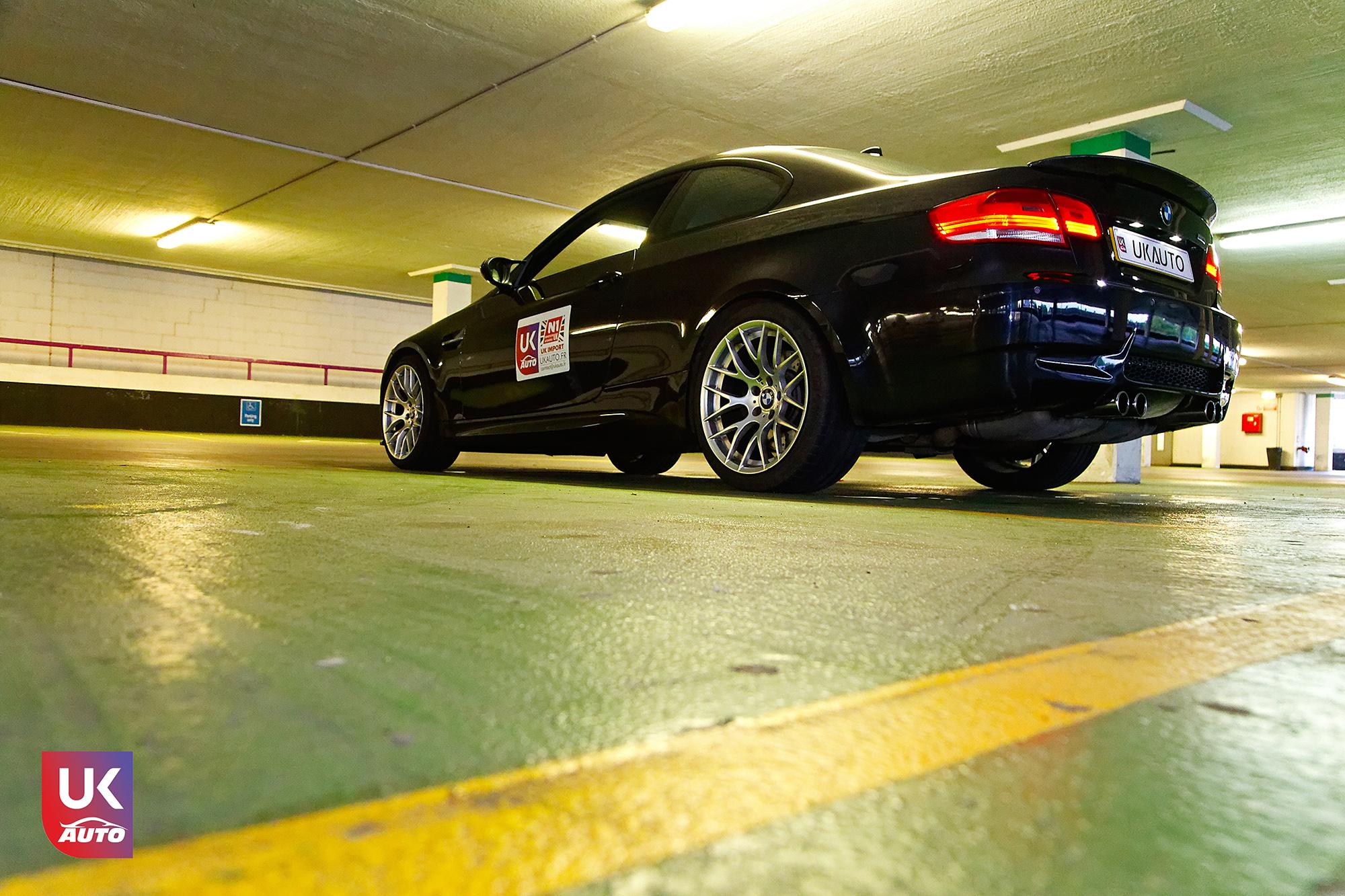 BMW m3 rhd ukauto importer voiture angleterre uk11 - Felecitation a Sylvain Pour cette BMW M3 E92 RHD pour avoir acheter une voiture en angleterre avant le brexit