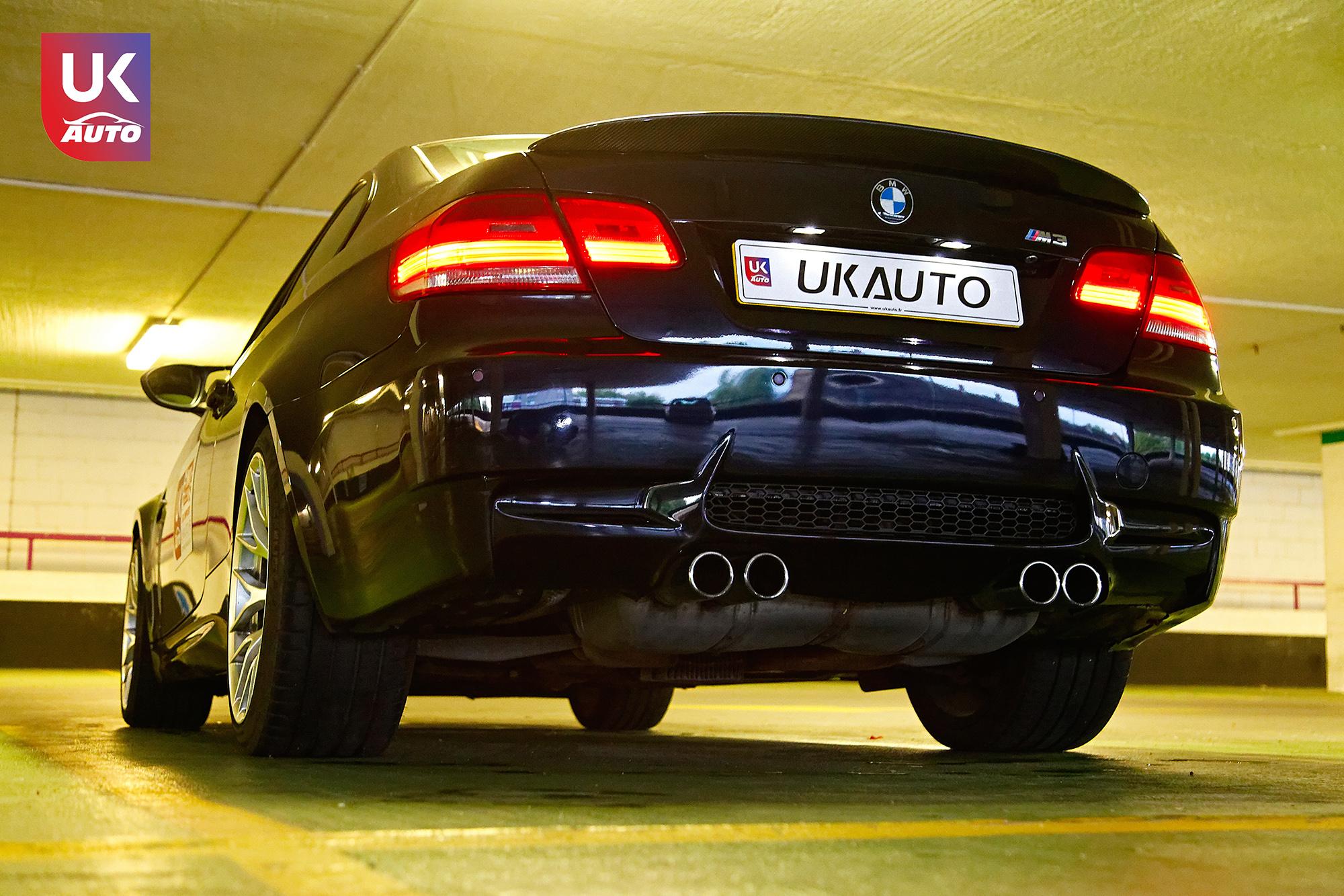 BMW m3 rhd ukauto importer voiture angleterre uk12 - Felecitation a Sylvain Pour cette BMW M3 E92 RHD pour avoir acheter une voiture en angleterre avant le brexit