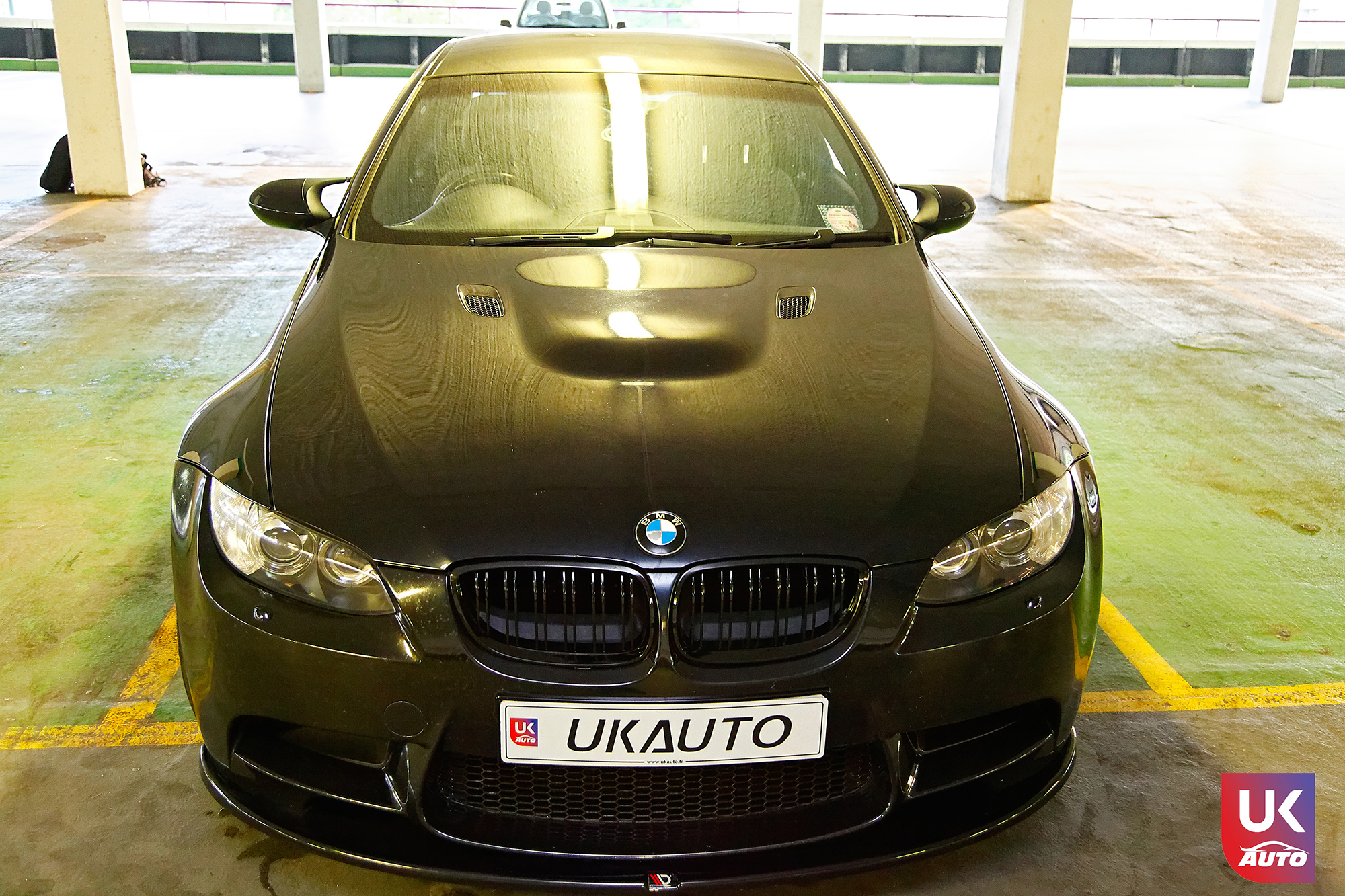 BMW m3 rhd ukauto importer voiture angleterre uk3 - Felecitation a Sylvain Pour cette BMW M3 E92 RHD pour avoir acheter une voiture en angleterre avant le brexit