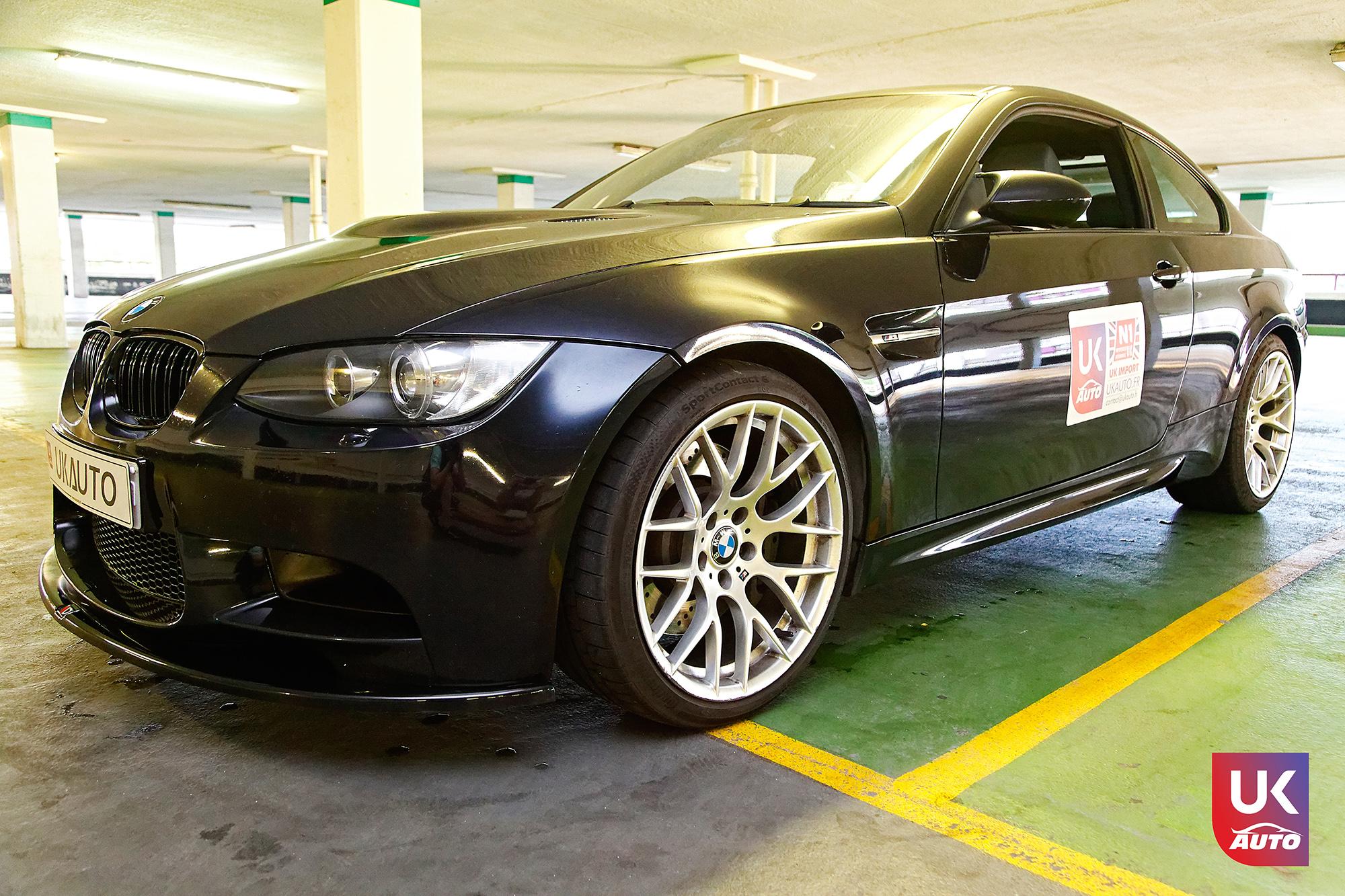 BMW m3 rhd ukauto importer voiture angleterre uk4 - Felecitation a Sylvain Pour cette BMW M3 E92 RHD pour avoir acheter une voiture en angleterre avant le brexit