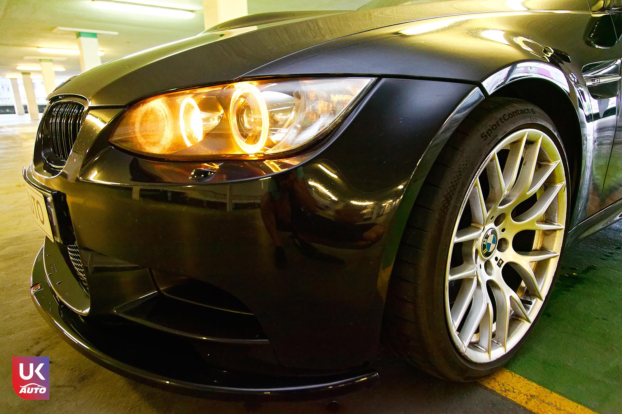 BMW m3 rhd ukauto importer voiture angleterre uk6 - Felecitation a Sylvain Pour cette BMW M3 E92 RHD pour avoir acheter une voiture en angleterre avant le brexit