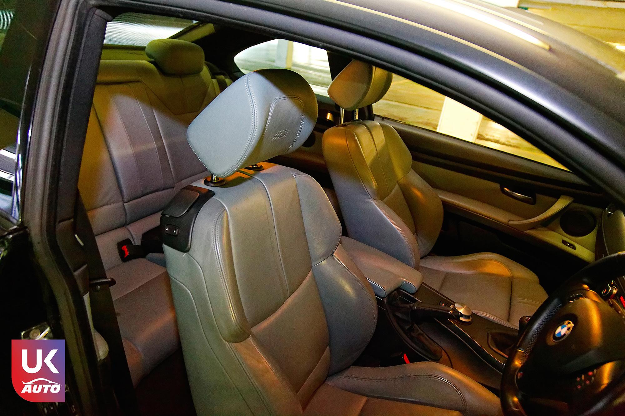 BMW m3 rhd ukauto importer voiture angleterre uk9 - Felecitation a Sylvain Pour cette BMW M3 E92 RHD pour avoir acheter une voiture en angleterre avant le brexit