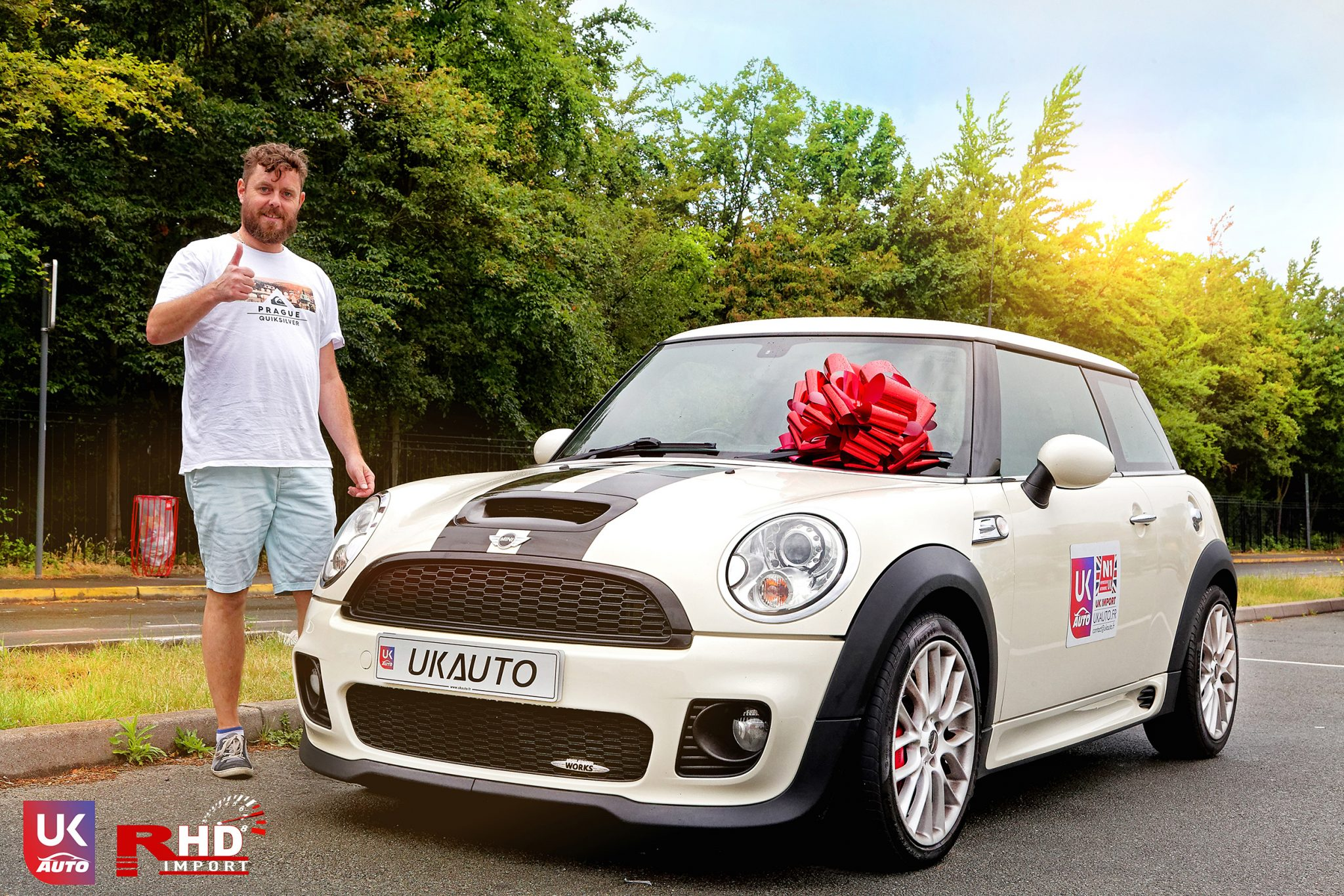 IMG 7269 DxO - Felicitation a Antoine Mini Cooper JCW John Cooper Works R56 voiture d'occasion en Angleterre