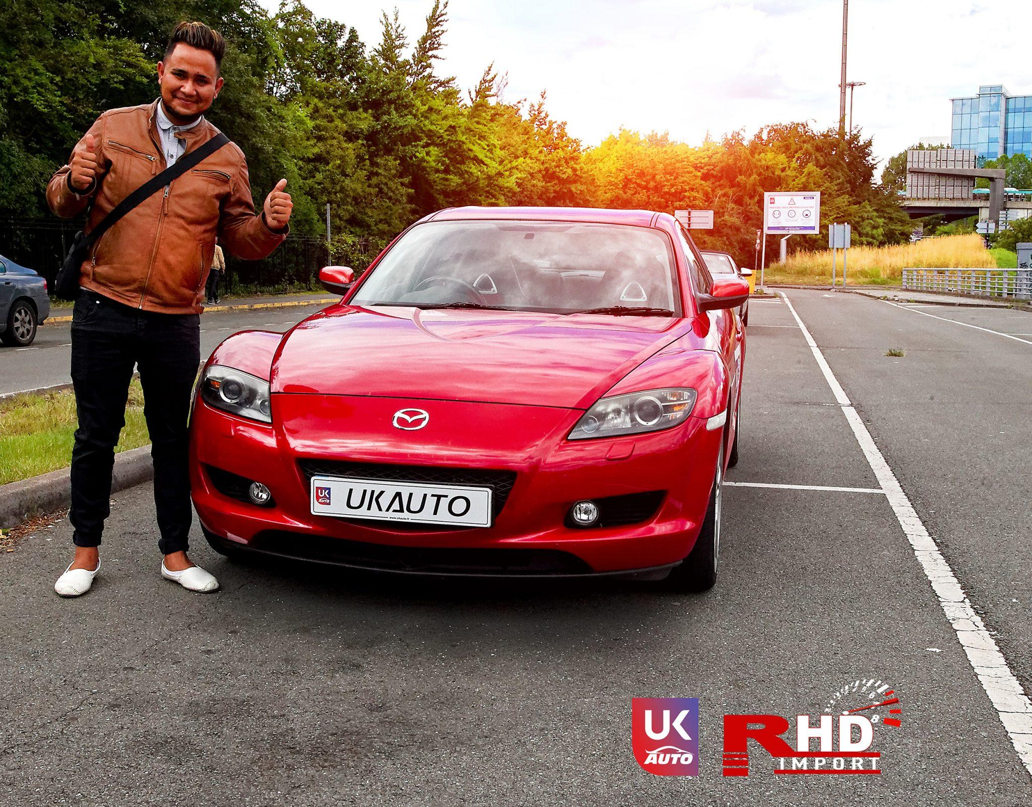 ukauto import uk angleterre mazda rx8 import voiture anglaise auto uk13 - Felecitation a Jeremie pour cette Mazda RX8 RHD import voiture anglaise N1 UK