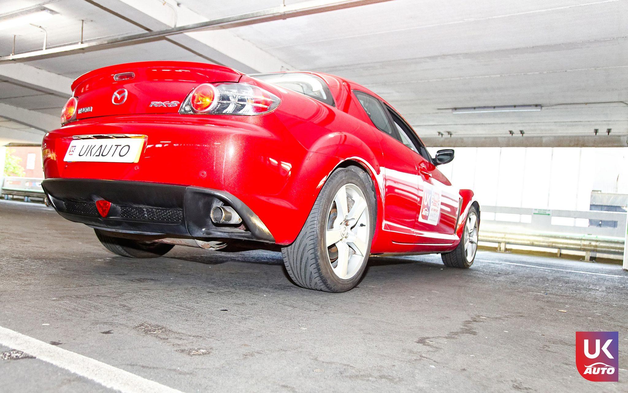 ukauto import uk angleterre mazda rx8 import voiture anglaise auto uk8 - Felecitation a Jeremie pour cette Mazda RX8 RHD import voiture anglaise N1 UK