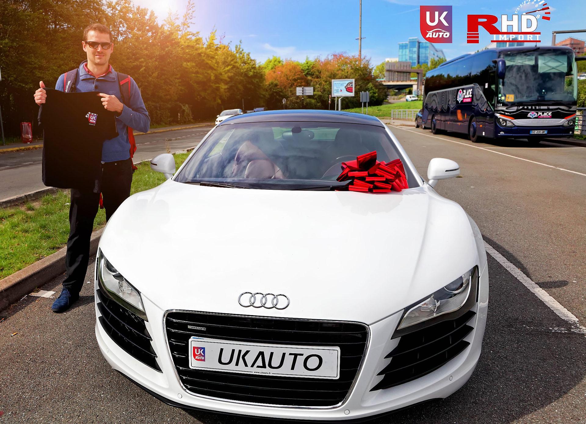 Audi R8 Import audi r8 lhd angleterre audi R8 V8 TFSI AUDI uk importation audi LHD volant a gauche2 DxO - AUDI R8 ANGLETERRE IMPORTATION AUDI R8 UK IMPORT SUPERCAR FELICITATION A CHARLES POUR CET IMPORT