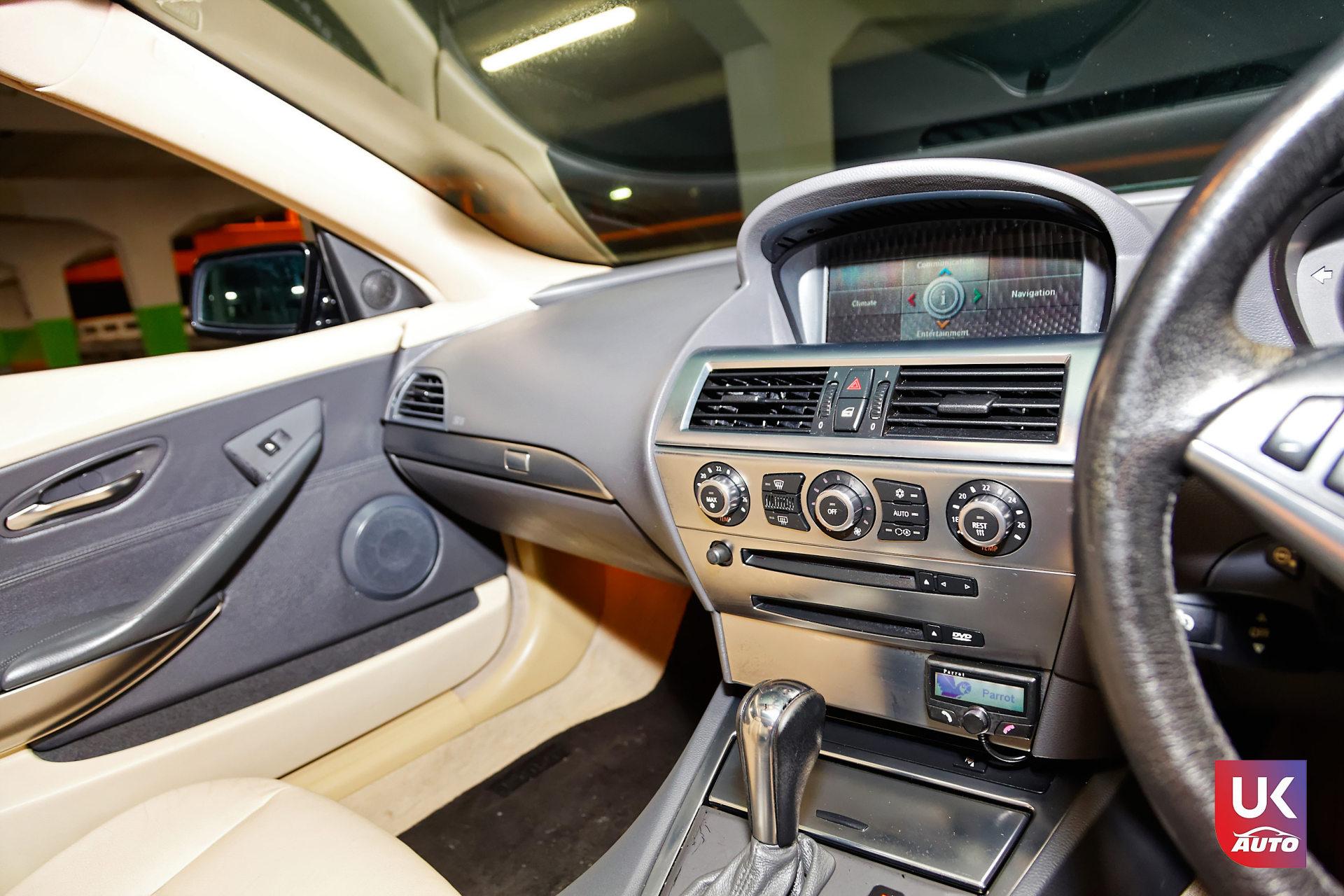 Bmw 645ci v8 import rhd bmw uk import rhd angleterre voiture anglaise bmw 645ci v88 DxO - BMW UK IMPORT BMW 645CI V8 ACHAT A LONDRES BMW IMPORT RHD FELICITATION A DAVID