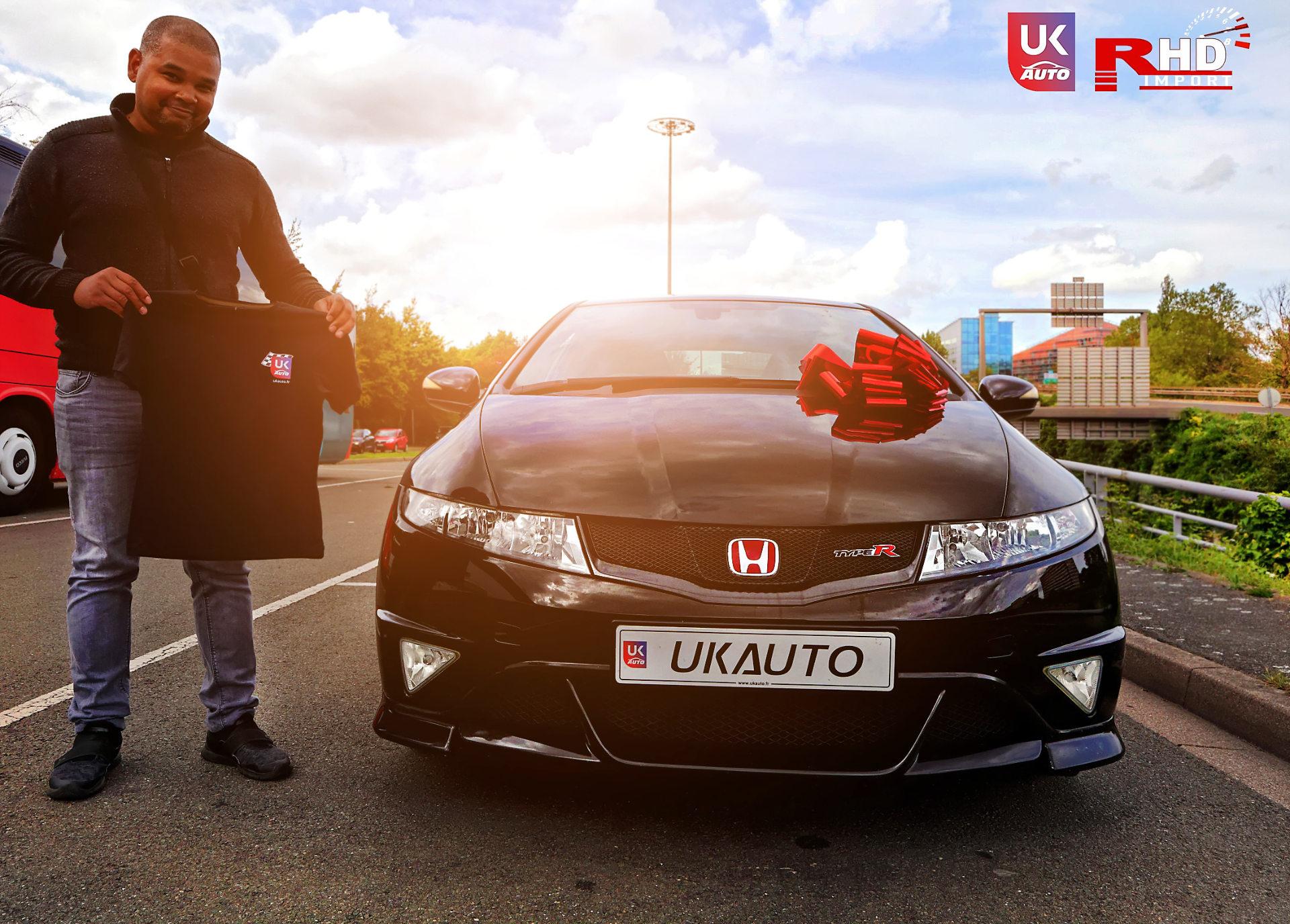 Honda Civic Type R FN2 rhd pack gt nissan uk nissan angleterre nissan royaume uni ukauto3 DxO - ACHAT AUTO HONDA CIVIC TYPE R FN2 POUR FREDERIC ACHAT AVANT LE BREXIT PAR NOTRE CLIENT