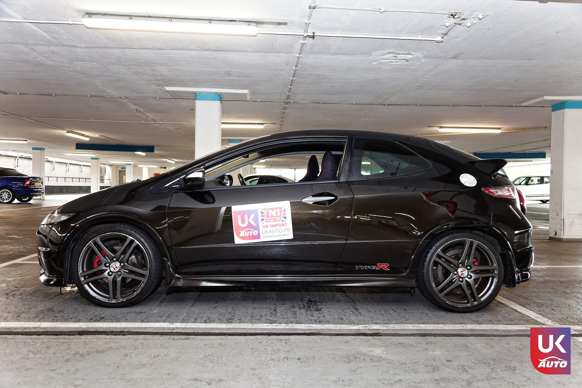Honda Civic Type R FN2 rhd pack gt nissan uk nissan angleterre nissan royaume uni ukauto9 DxO - ACHAT AUTO HONDA CIVIC TYPE R FN2 POUR FREDERIC ACHAT AVANT LE BREXIT PAR NOTRE CLIENT