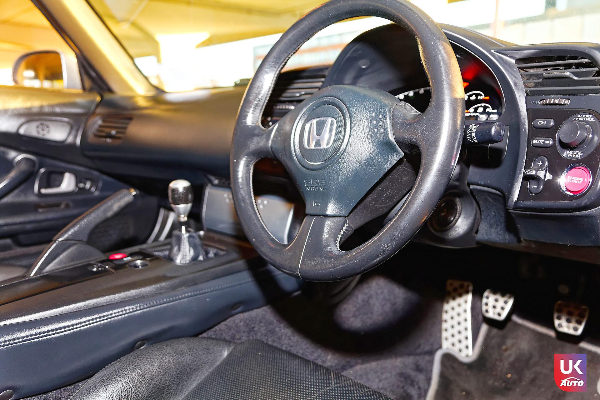 Honda S2000 VTEC RHD UK IMPORT ANGLETERRE HONDA UK ROYAUME UNI6 DxO - Importation angleterre Honda S2000 rhd VTEC honda Royaume uni Felicitation a Alexis