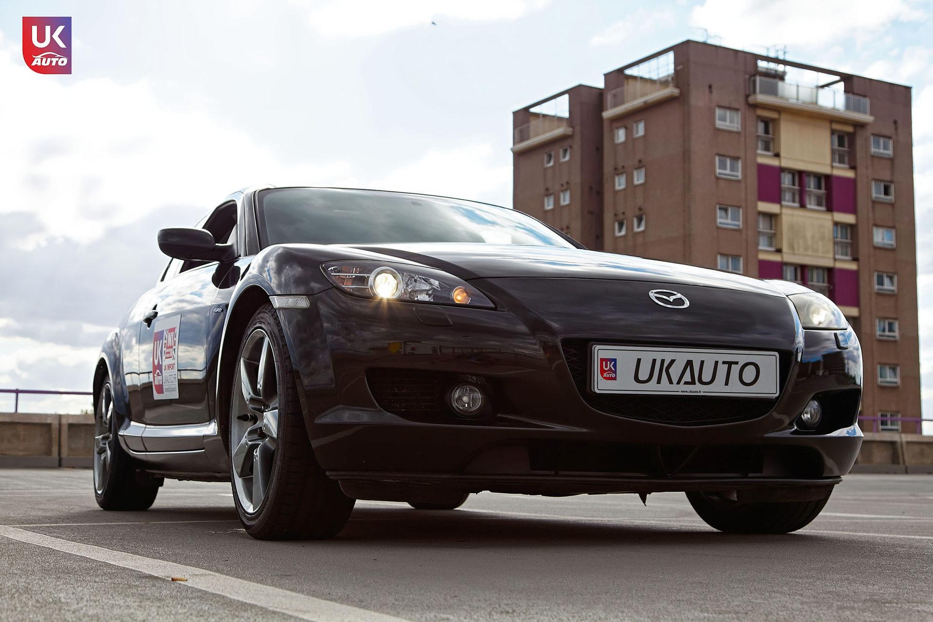 Mazda RX8 Rotary mazda angleterre mazda uk RX8 KURO import uk rhd10 DxO - Import Mazda RX8 KURO ROTARY depuis Autotrader par UKAUTO site annonces UK rhd Felicitation a Dimitri