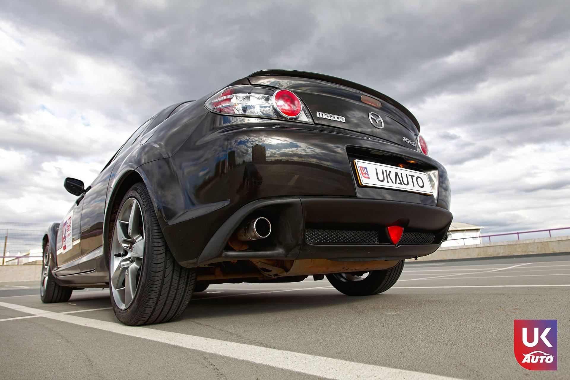 Mazda RX8 Rotary mazda angleterre mazda uk RX8 KURO import uk rhd11 DxO - Import Mazda RX8 KURO ROTARY depuis Autotrader par UKAUTO site annonces UK rhd Felicitation a Dimitri
