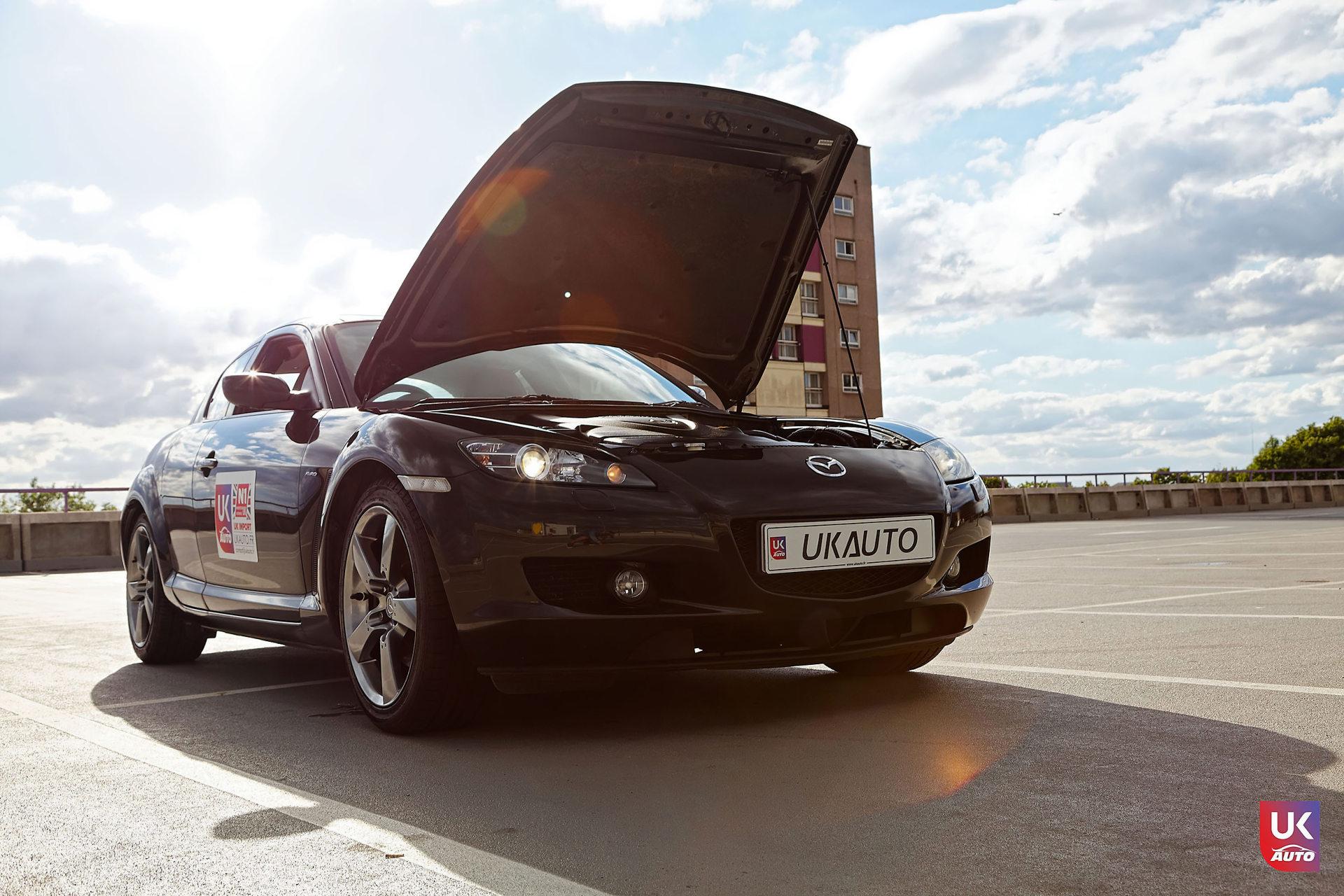 Mazda RX8 Rotary mazda angleterre mazda uk RX8 KURO import uk rhd12 DxO - Import Mazda RX8 KURO ROTARY depuis Autotrader par UKAUTO site annonces UK rhd Felicitation a Dimitri