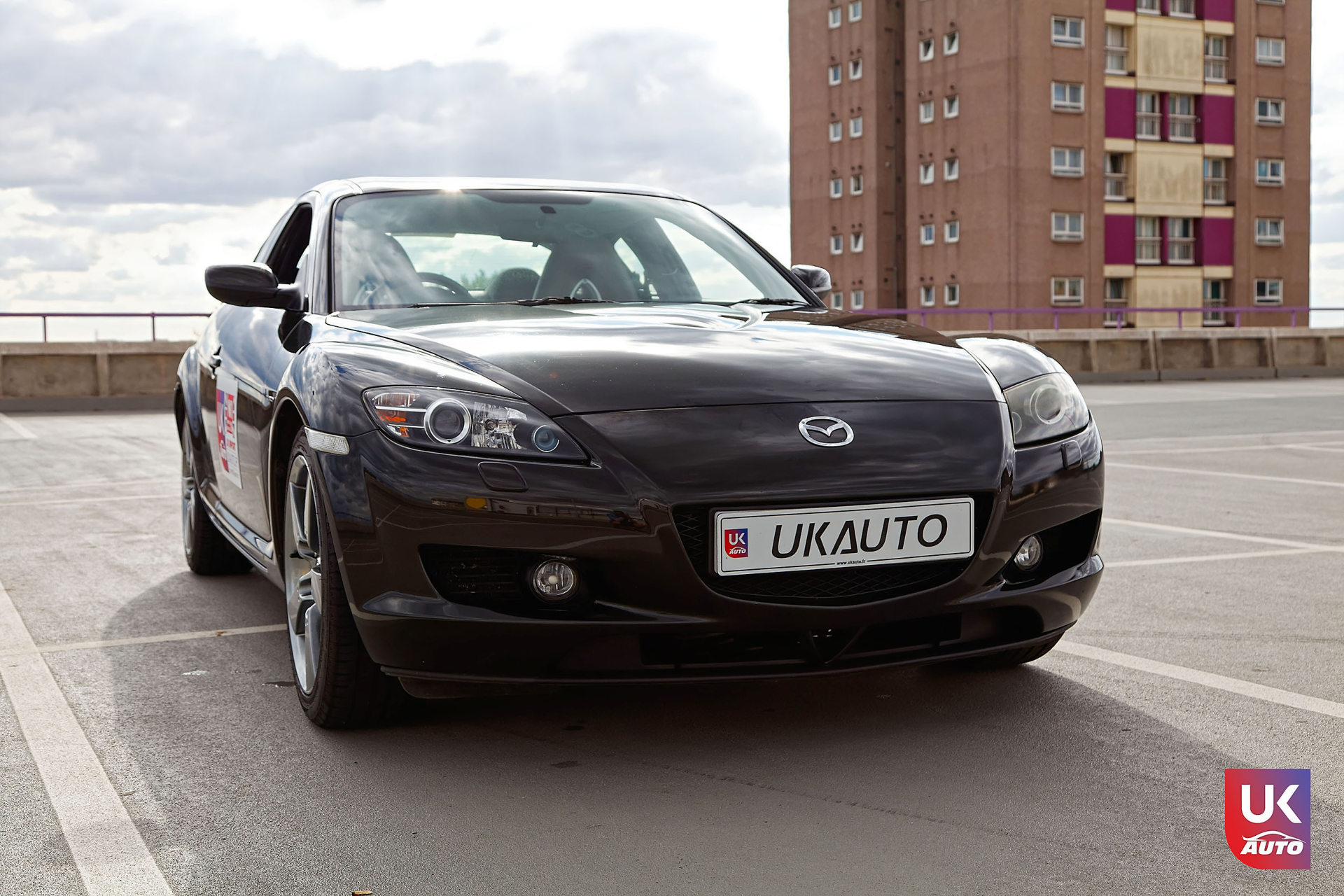 Mazda RX8 Rotary mazda angleterre mazda uk RX8 KURO import uk rhd1 DxO - Import Mazda RX8 KURO ROTARY depuis Autotrader par UKAUTO site annonces UK rhd Felicitation a Dimitri