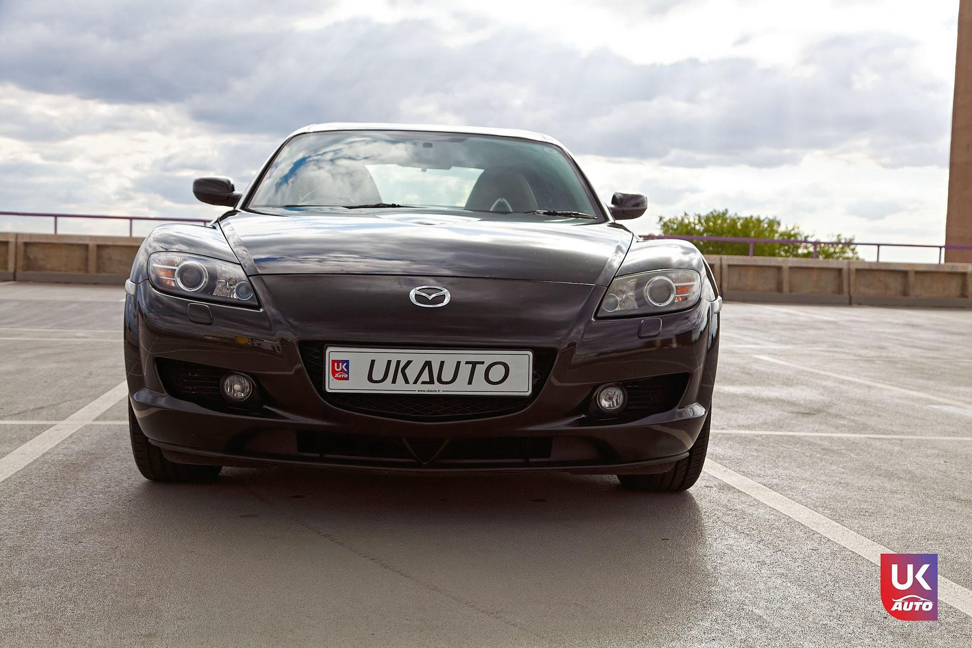 Mazda RX8 Rotary mazda angleterre mazda uk RX8 KURO import uk rhd2 DxO - Import Mazda RX8 KURO ROTARY depuis Autotrader par UKAUTO site annonces UK rhd Felicitation a Dimitri