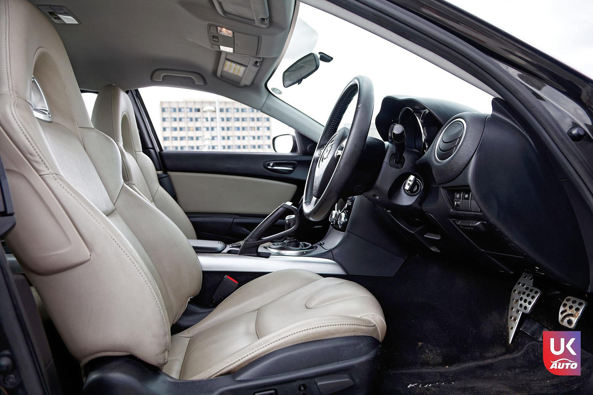 Mazda RX8 Rotary mazda angleterre mazda uk RX8 KURO import uk rhd7 DxO - Import Mazda RX8 KURO ROTARY depuis Autotrader par UKAUTO site annonces UK rhd Felicitation a Dimitri