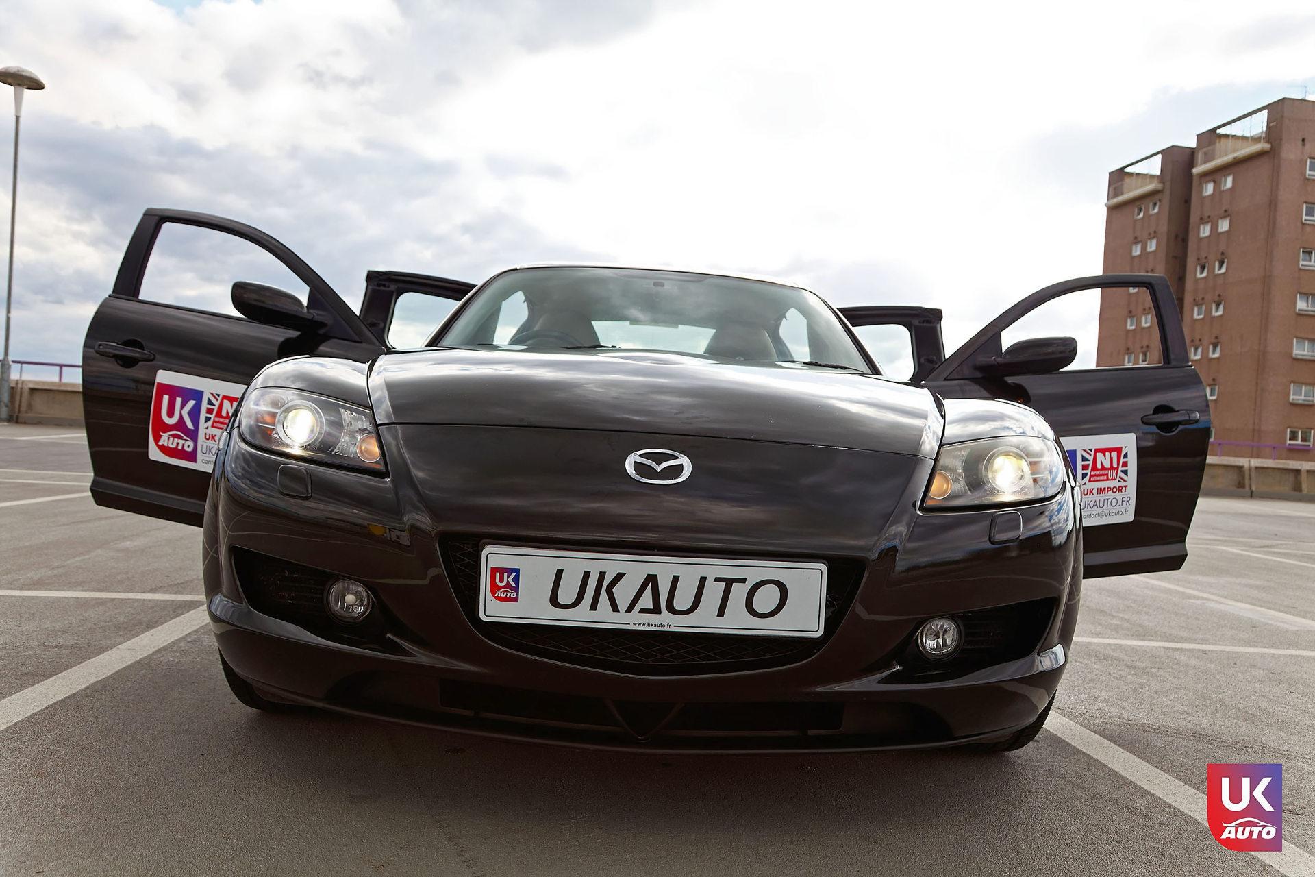 Mazda RX8 Rotary mazda angleterre mazda uk RX8 KURO import uk rhd9 DxO - Import Mazda RX8 KURO ROTARY depuis Autotrader par UKAUTO site annonces UK rhd Felicitation a Dimitri