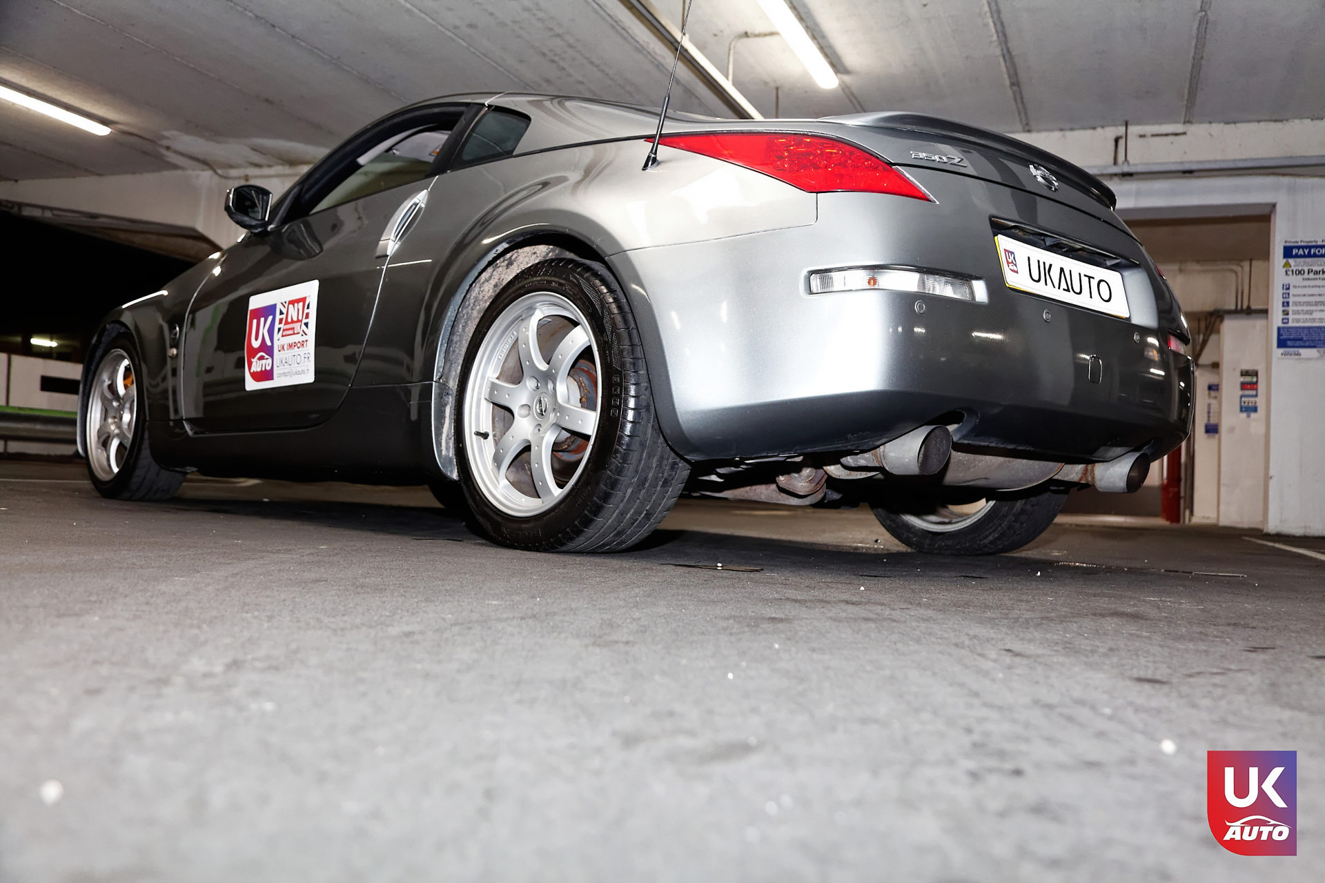 Nissan 350z rhd v6 nissan angleterre nissan uk nissan import rhd voiture occasion mandataire nissan 6 DxO - NISSAN ANGLETERRE IMPORT NISSAN 350Z V6 RHD 3.5 MANDATAIRE NISSAN AUTO AVANT LE BREXIT FELICITATION A XABI