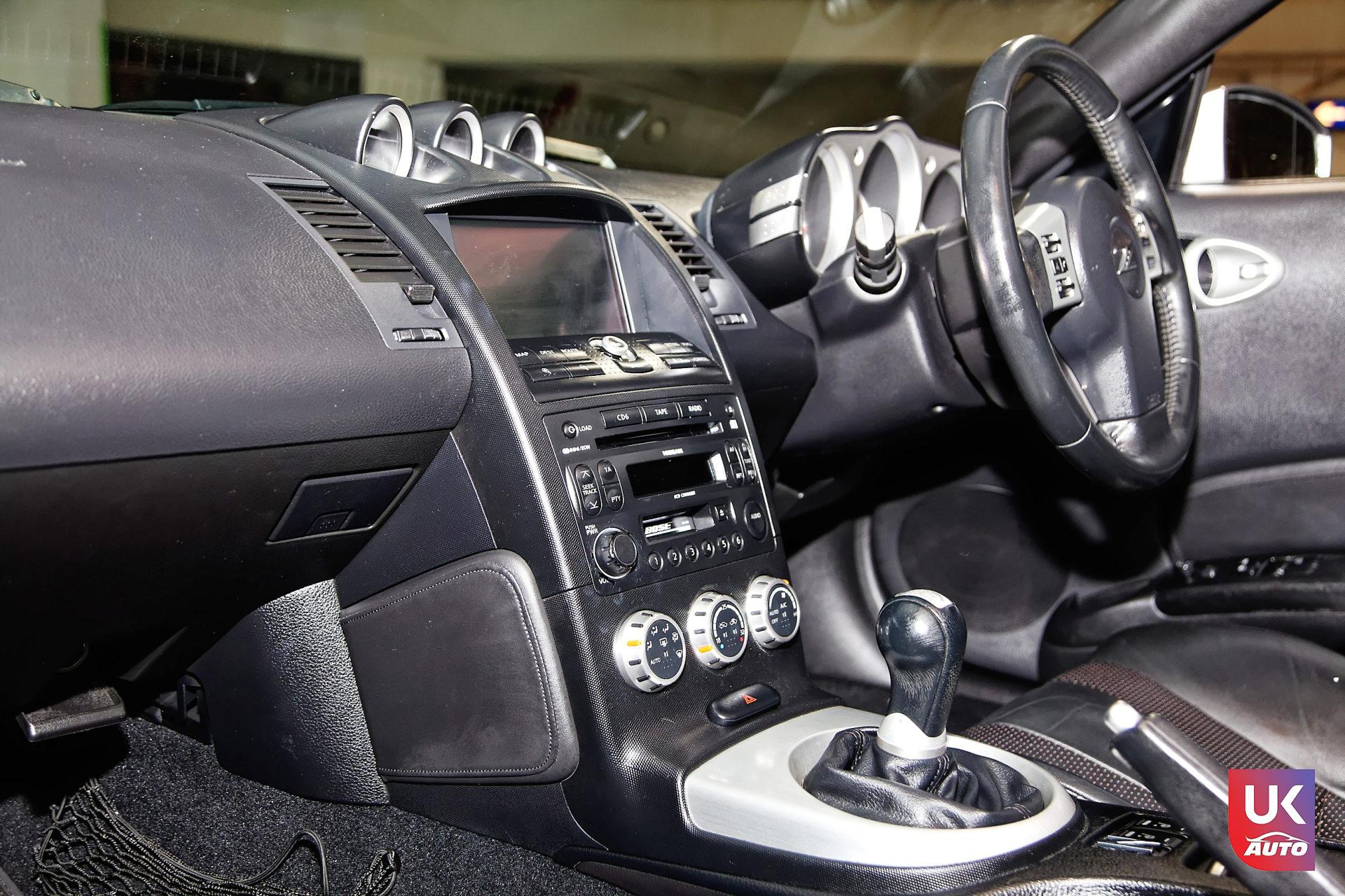 Nissan 350z rhd v6 nissan angleterre nissan uk nissan import rhd voiture occasion mandataire nissan 8 DxO - NISSAN ANGLETERRE IMPORT NISSAN 350Z V6 RHD 3.5 MANDATAIRE NISSAN AUTO AVANT LE BREXIT FELICITATION A XABI