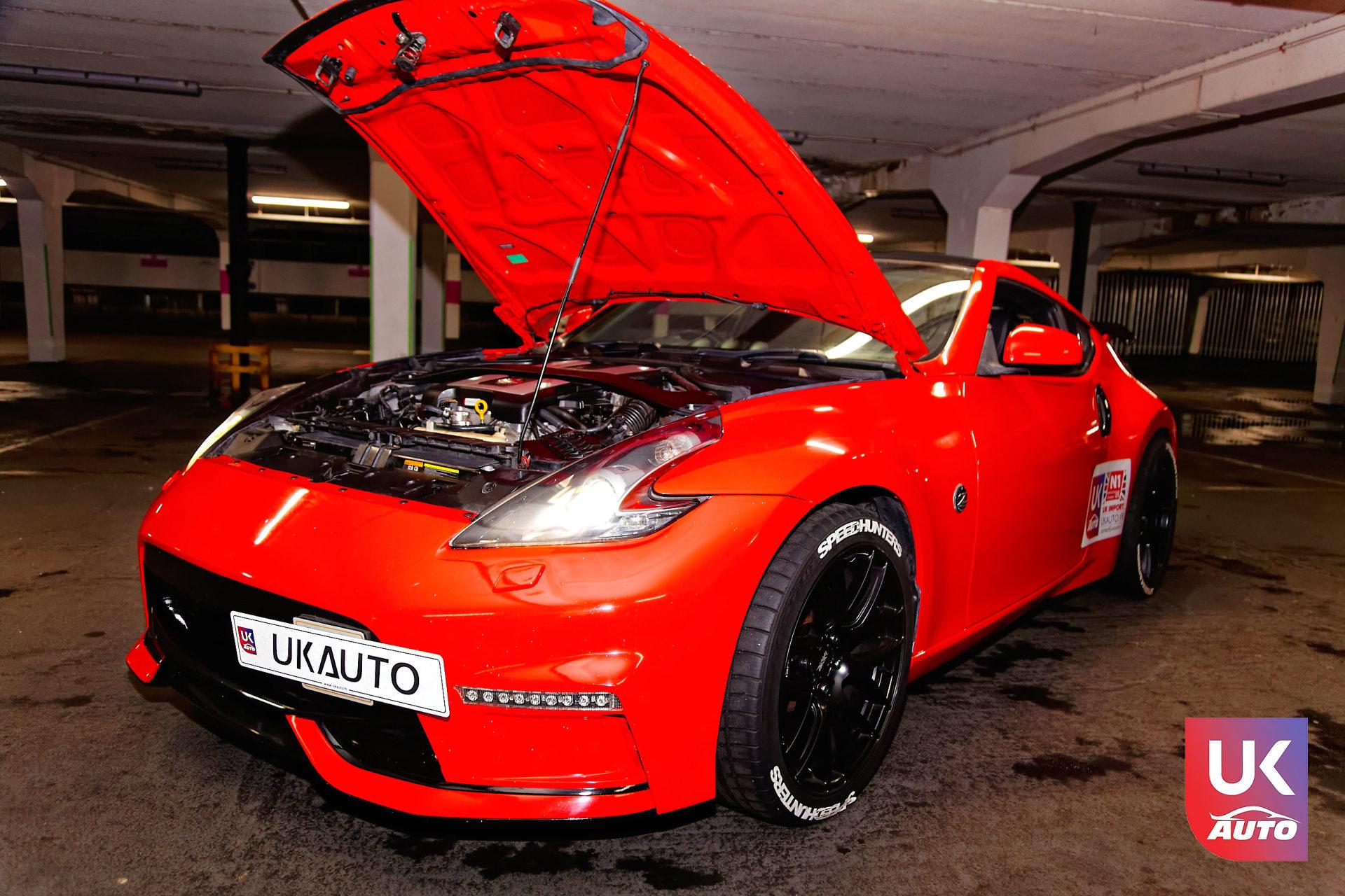 Nissan 370Z SUPERCHARGED UK IMPORTATION VOITURE ANGLAISE NISSAN ANGLETERRE NISSAN UK UKAUTO13 DxO - IMPORTATION NISSAN ANGLETERRE NISSAN 370Z V6 RHD VOITURE ANGLAISE SPORTIVE