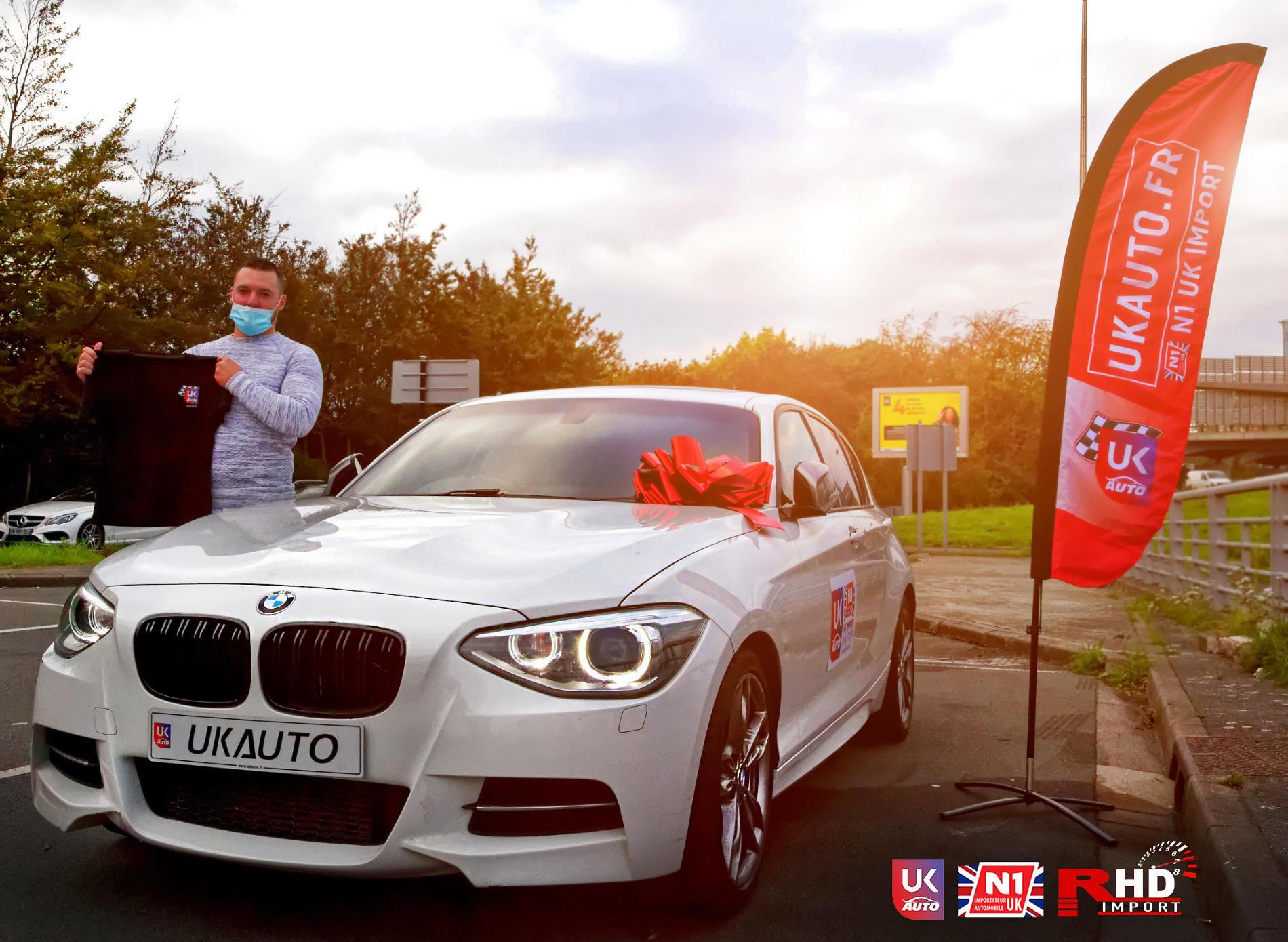 BMW RHD BMW VOLANT A DROITE IMPORT BMW M135i RHD PARFAIT BMW OCCASION POUR NOTRE CLIENT SEBASTIEN TOUTES NOS FELICITATIONS15 - BMW RHD BMW VOLANT A DROITE IMPORT BMW M135i RHD PARFAIT BMW OCCASION POUR NOTRE CLIENT SEBASTIEN TOUTES NOS FELICITATIONS
