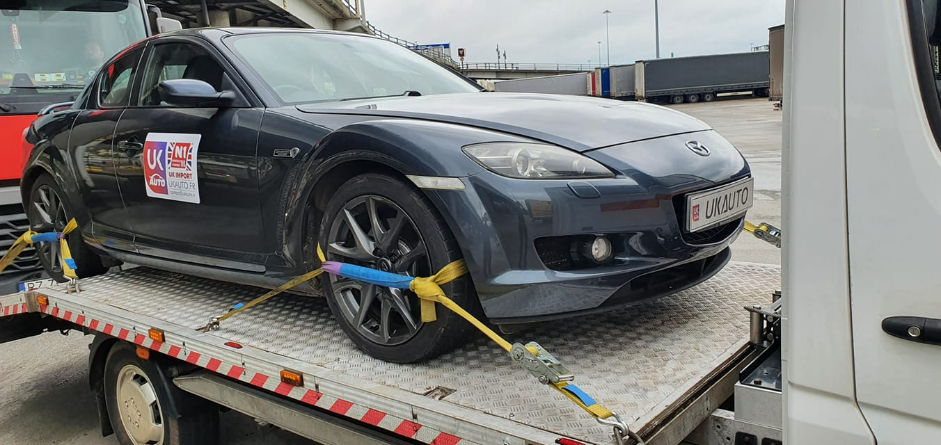 Achat voiture anglaise occasion Mazda RX83 - Achat voiture anglaise occasion Mazda RX8