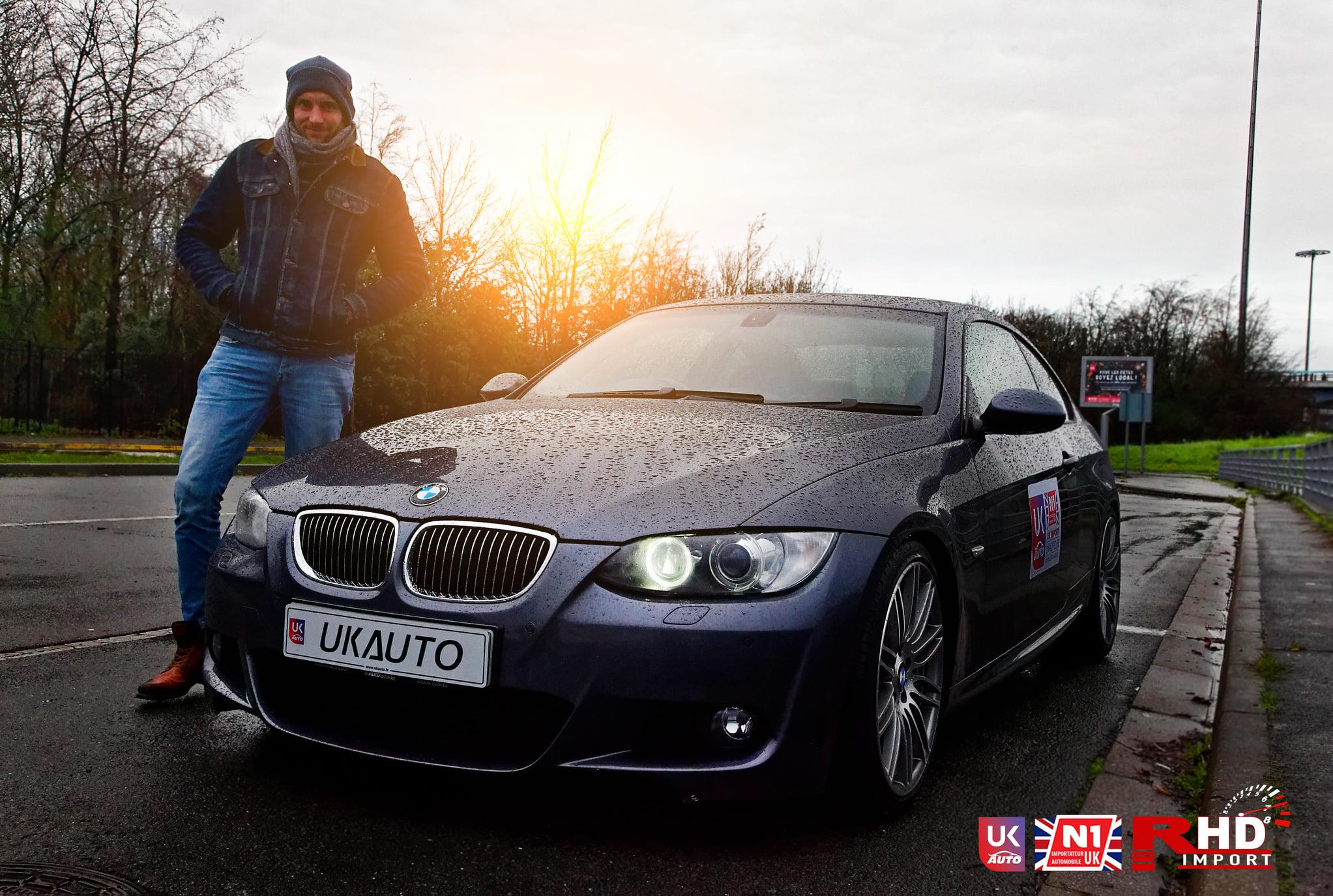 IMPORT BMW 335I importation dangleterre vers la france2 - IMPORT BMW 335I importation d'angleterre vers la france