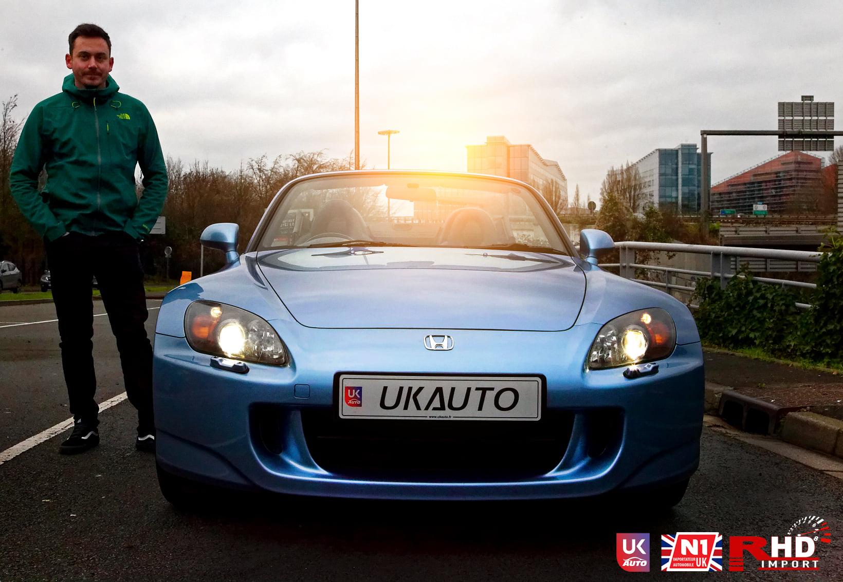 Voiture anglaise et brexit Honda S20005 - Voiture anglaise et brexit Honda S2000